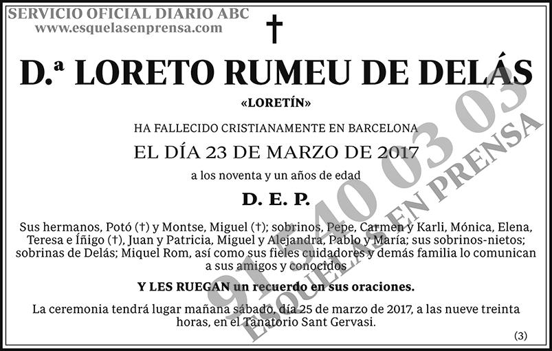 Loreto Rumeu de Delás